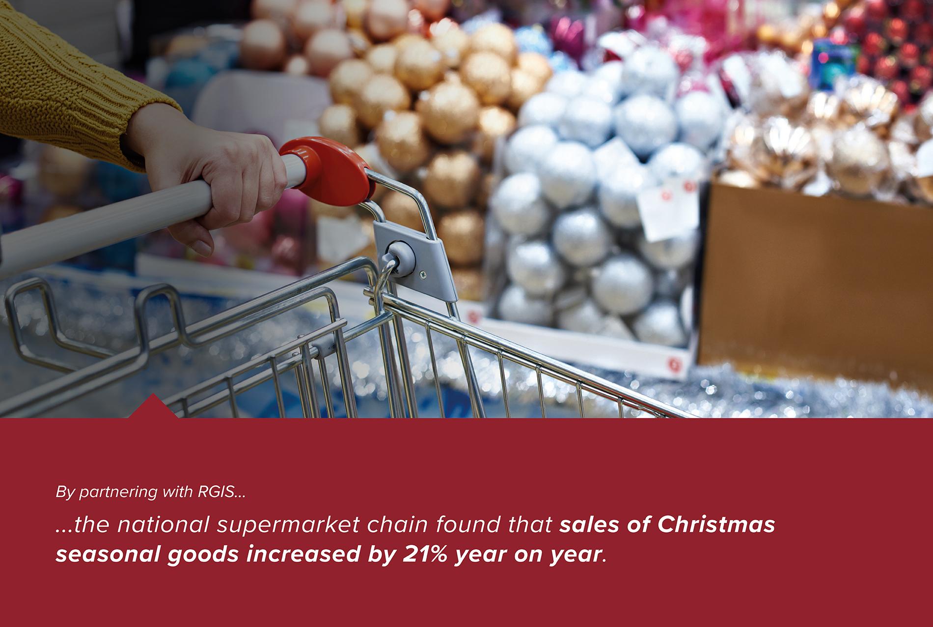 Focused Stock Count of Seasonal Goods