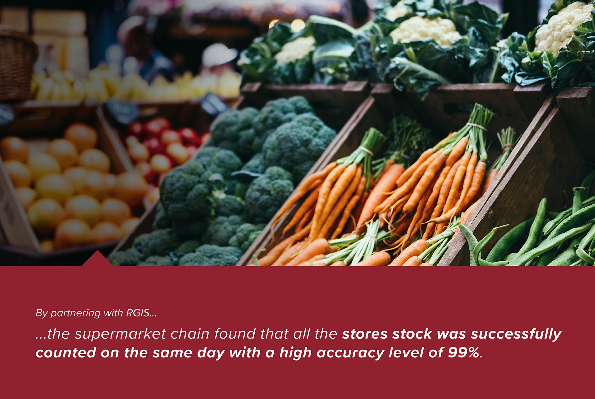 Supermarket Chain Store Simultaneous Stock Counts
