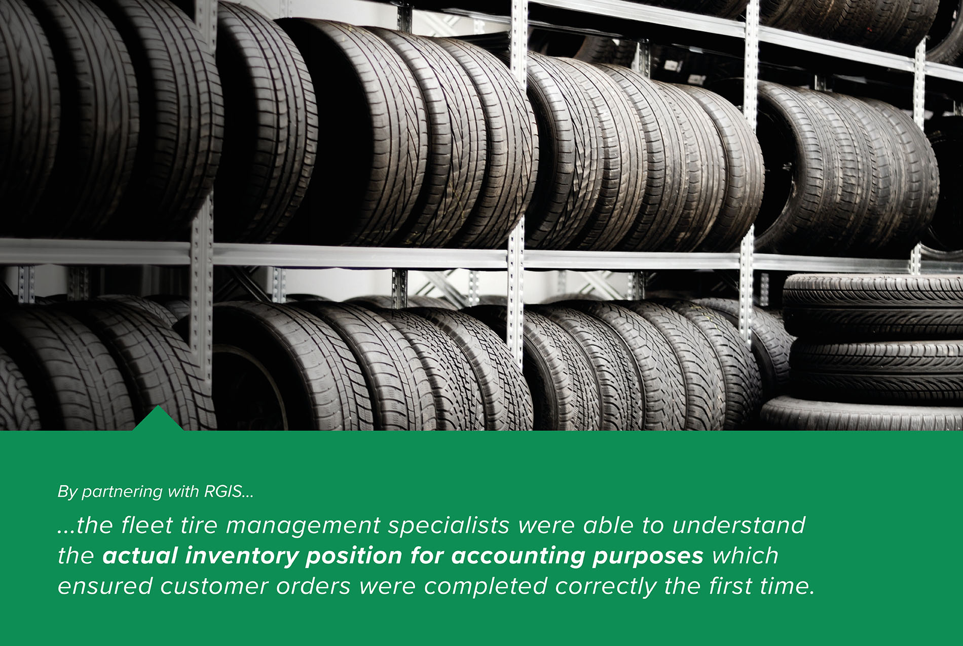 Tire Audit to Eliminate Inventory Inconsistencies