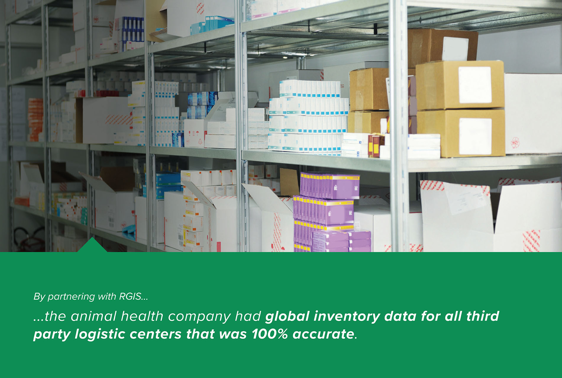 Global Third Party Logistic Center Counts