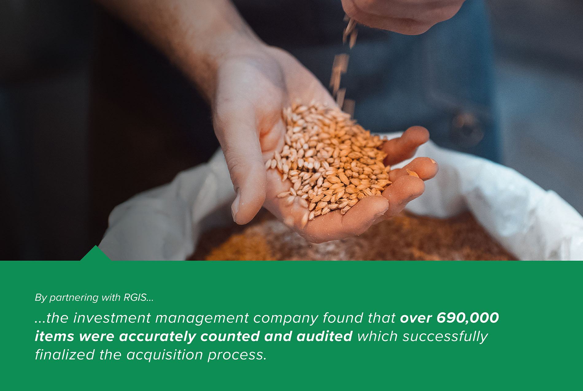 Acquisition Inventory and Damaged Product Audit of Agro Products