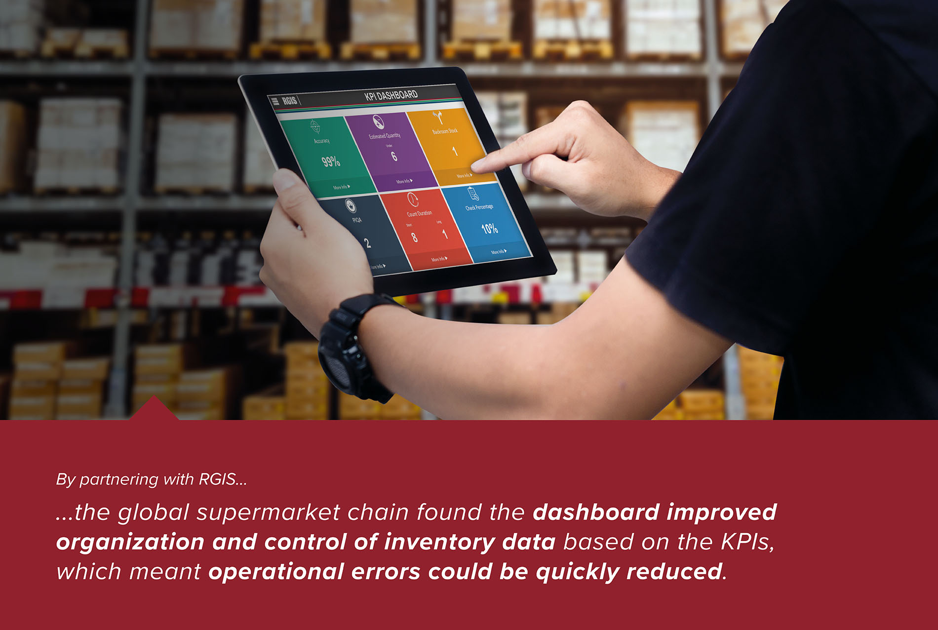 Supermarket Delivery Check with Dashboard Reporting
